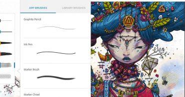 دانلود نرمافزار Adobe Photoshop Sketch برای آیفون، آیپاد و آیپد