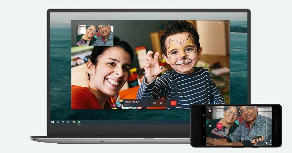 آموزش برقراری تماس با واتساپ در مک و PC