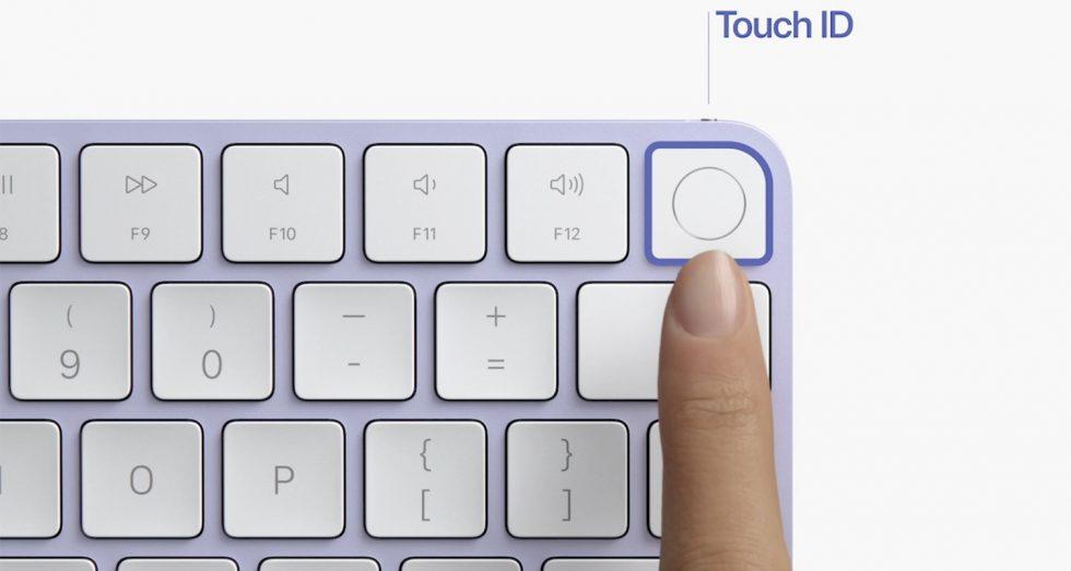 مجیک کیبورد نامریک با فناوری تاچ آیدی عرضه شد